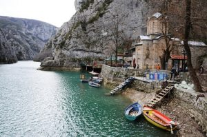 •	Canyon Matka - Matka is one of the most popular outdoor destinations in Macedonia and is home to several medieval monasteries. The Matka Lake within the Matka Canyon is the oldest artificial lake in the country.