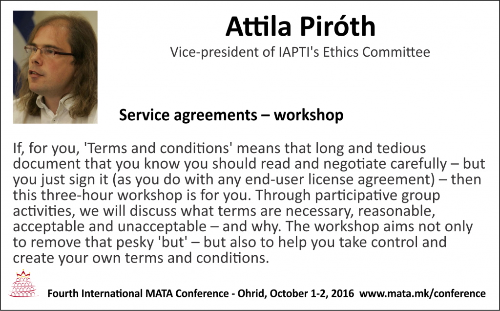 Attila Piroth Workshop