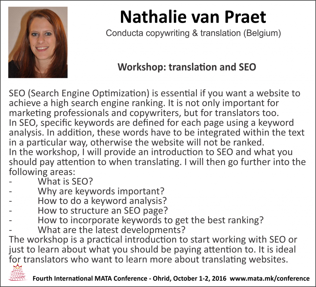 Nathalie van Praet-workshop